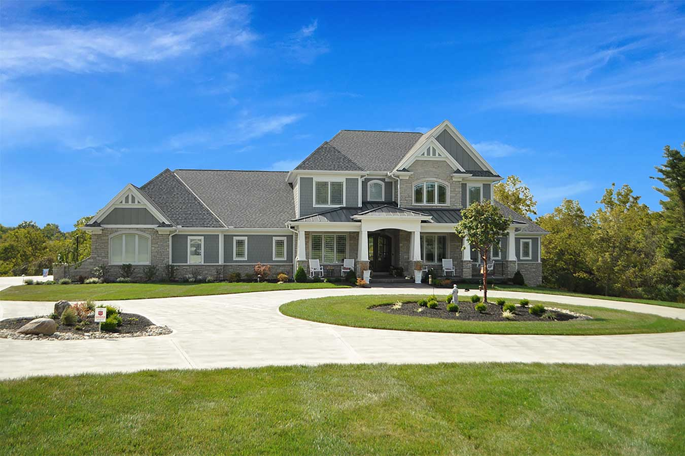 Cincinnati Custom Home Exterior
