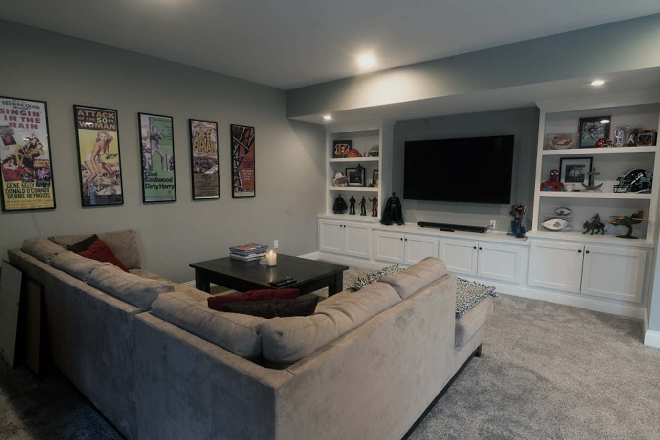 custom basement builtins