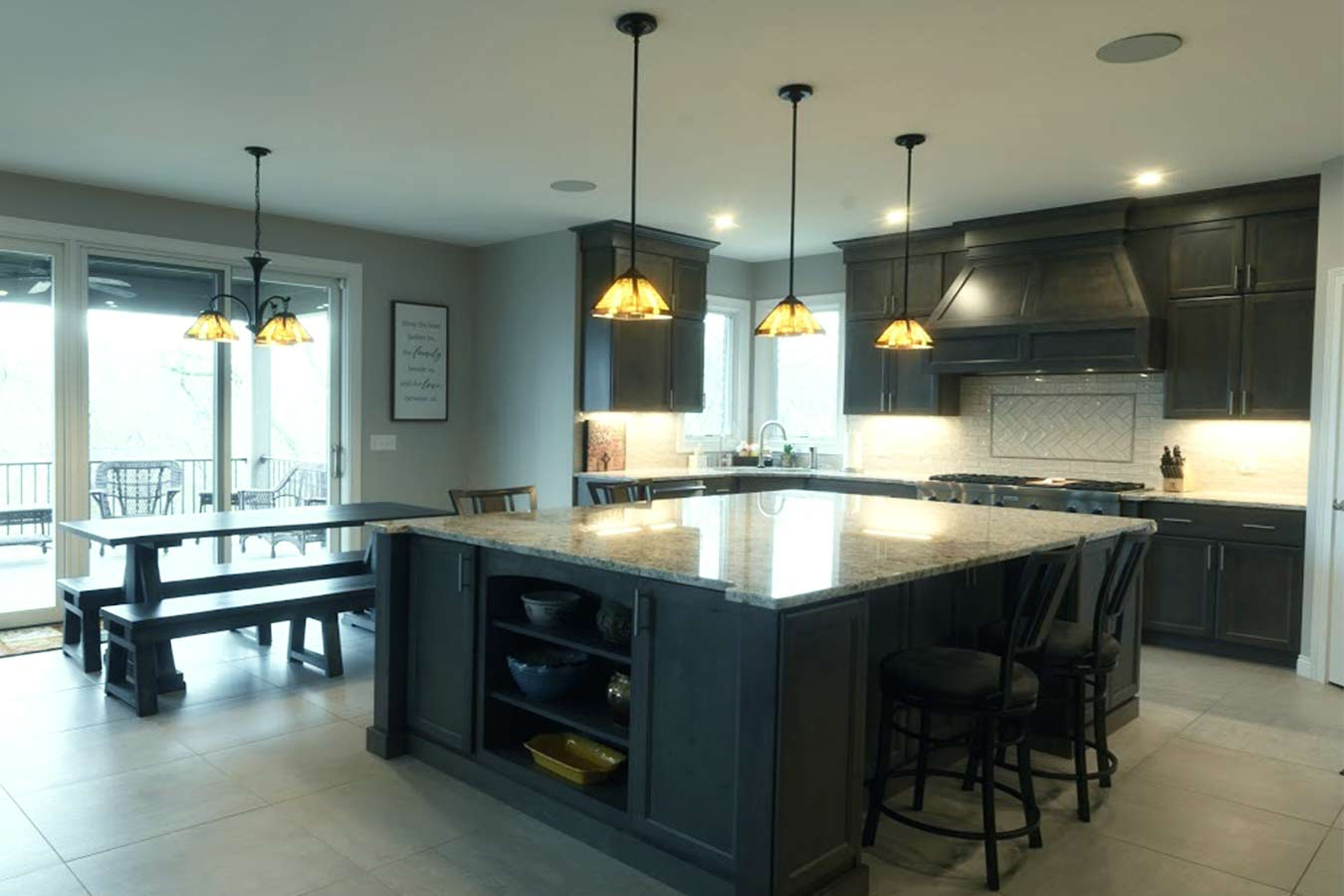 custom home kitchens